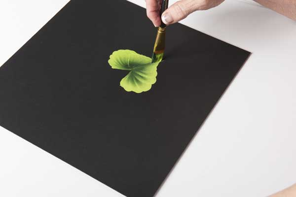 How to Paint a Wiggle Leaf