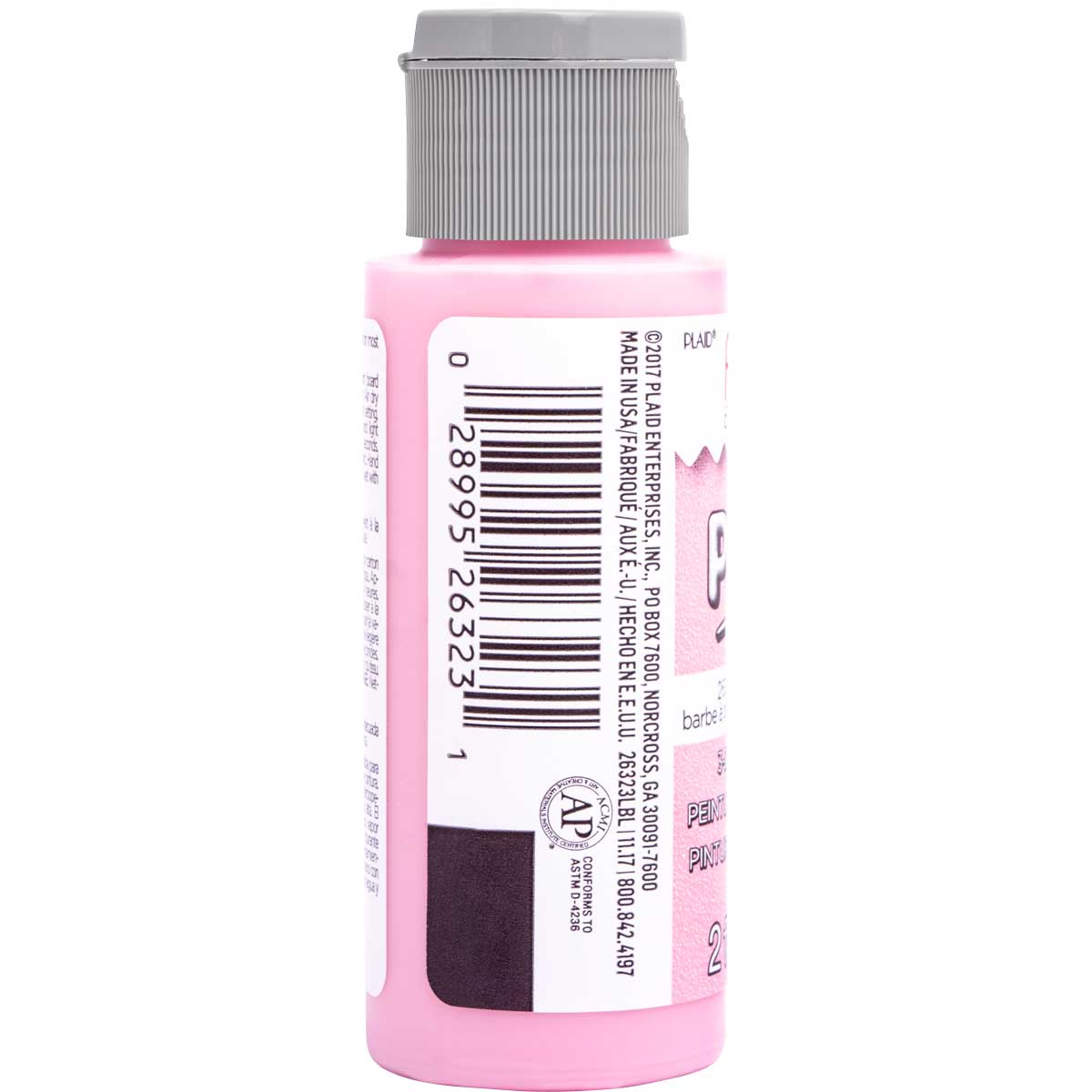 Fabric Creations™ Plush™ 3-D Fabric Paints - Cotton Candy, 2 oz. - 26323