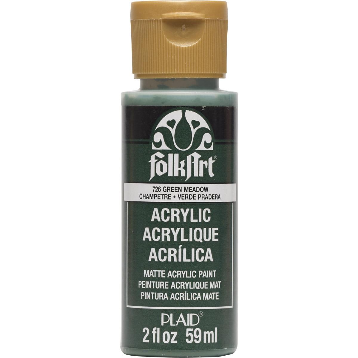 FolkArt ® Acrylic Colors - Green Meadow, 2 oz. - 726