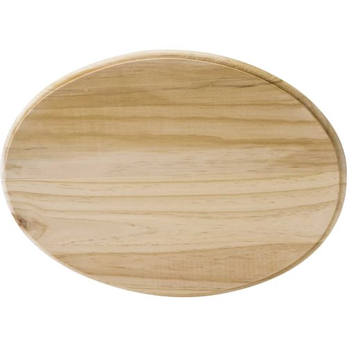 Plaid ® Wood Surfaces - Plaques - Oval