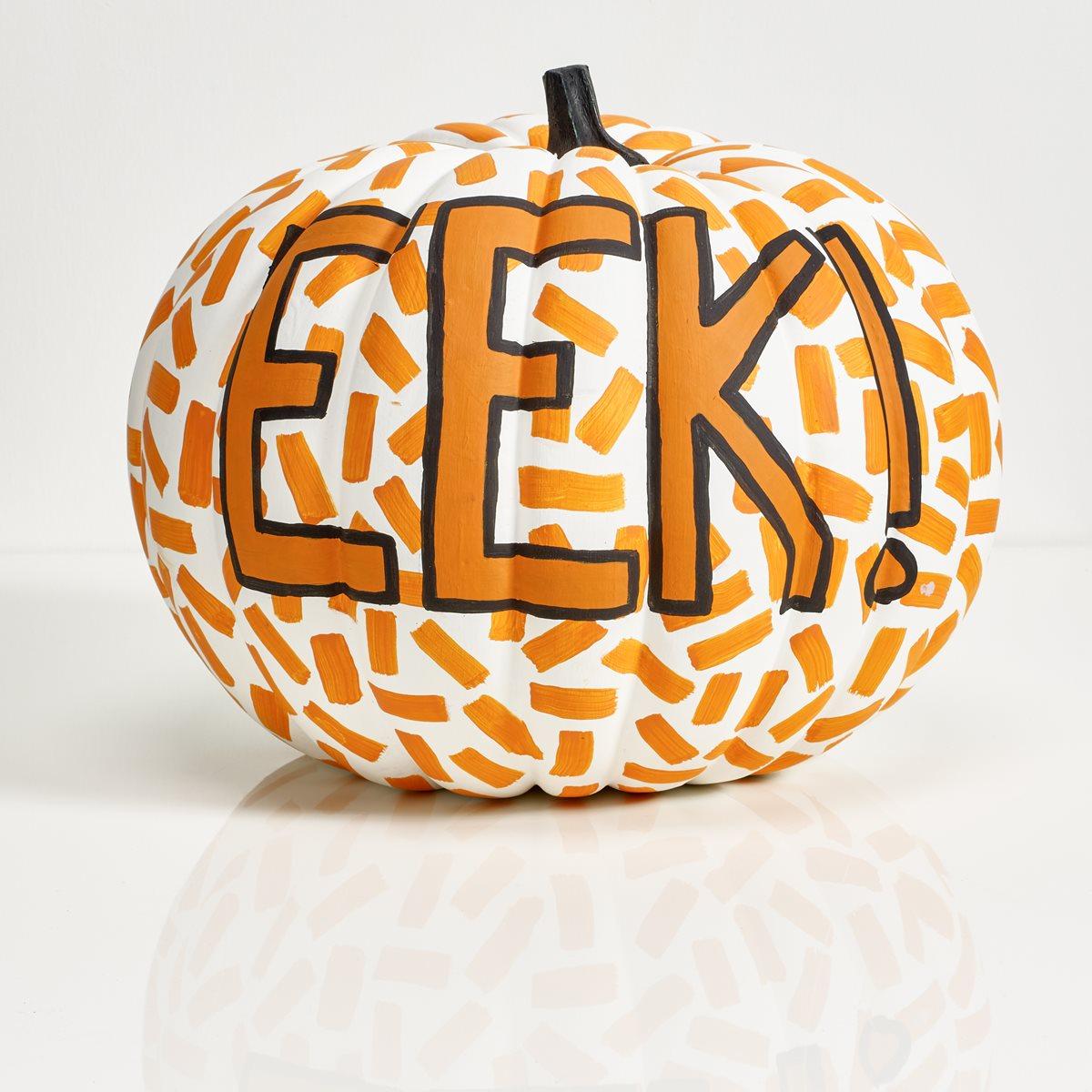 Apple Barrel EEK! Pumpkin