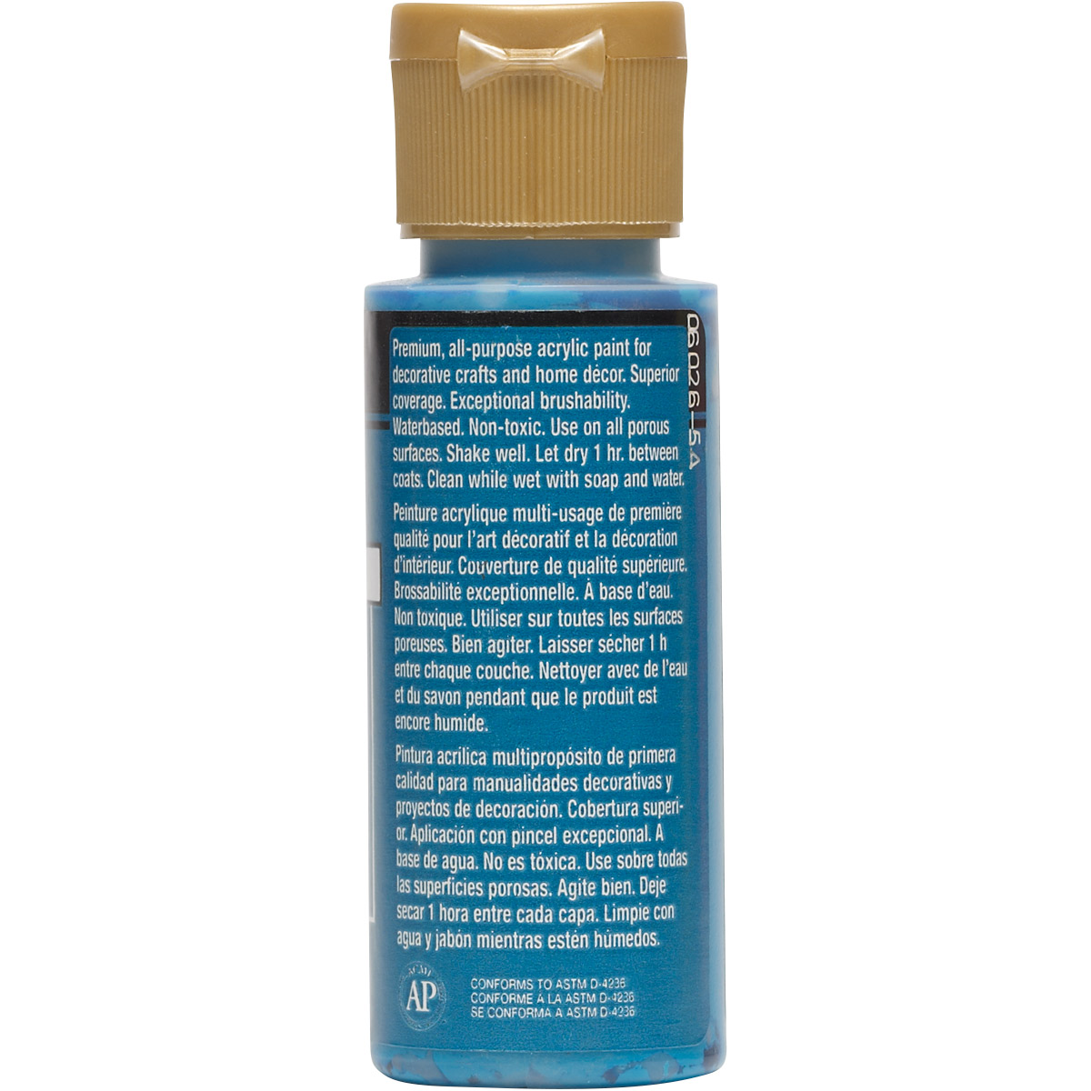 FolkArt ® Acrylic Colors - Azure Blue, 2 oz. - 643