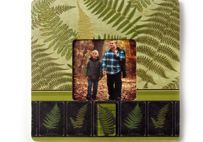 Father's Day Woodland Photo Frame