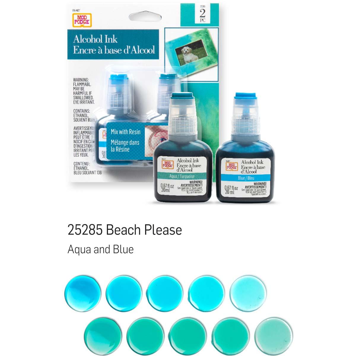 Mod Podge ® Alcohol Ink Set - Beach Please, 2 pc. - 25285