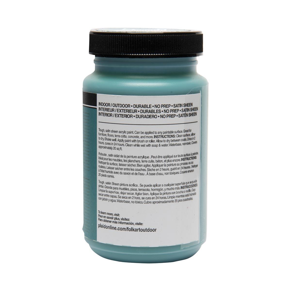 FolkArt ® Outdoor™ Acrylic Colors - Martinique, 8 oz.