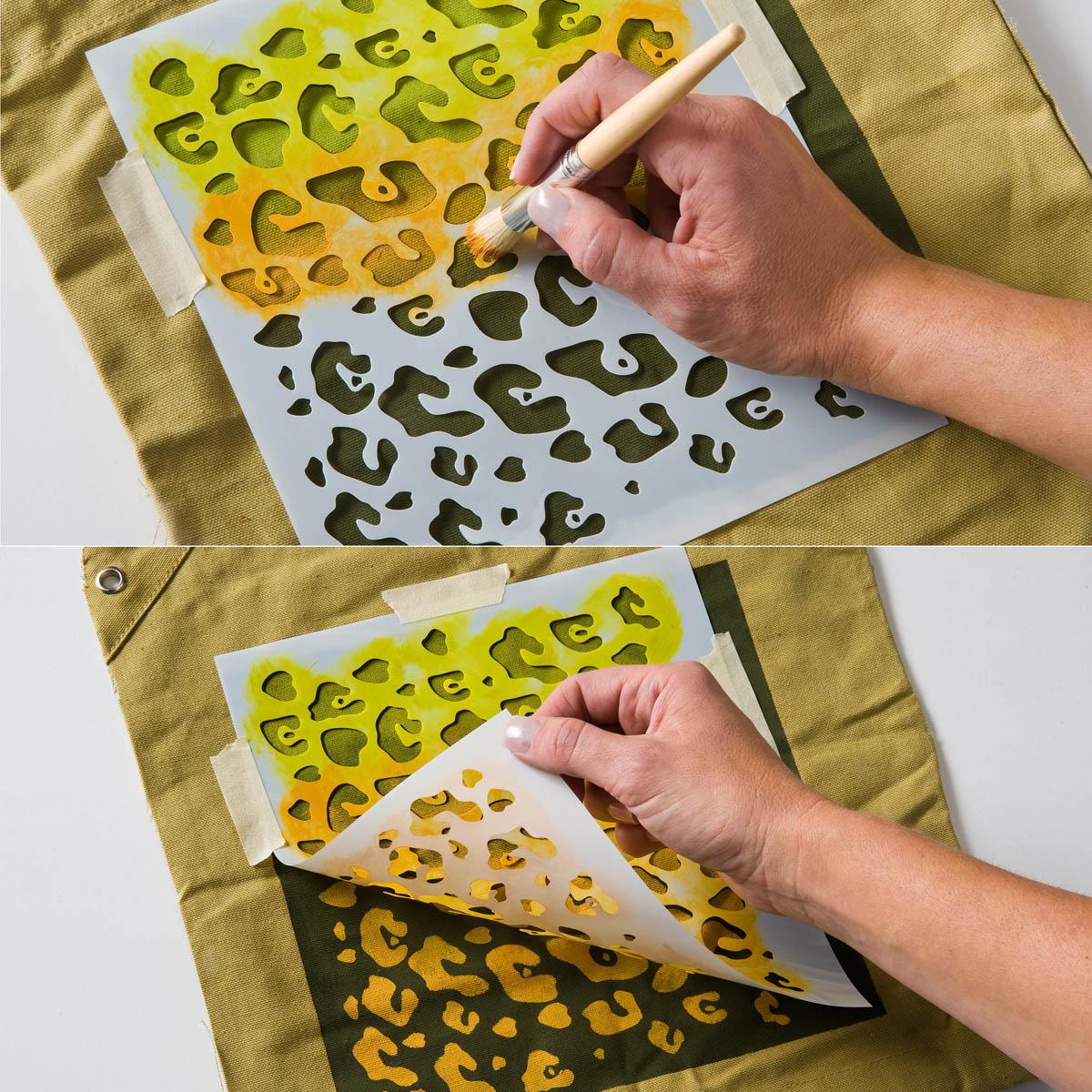 FolkArt ® Painting Stencils - Large - Jaguar