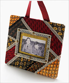 Family Ties Patchwork Frame