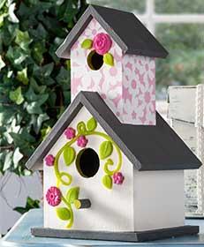 Dimensional Birdhouse