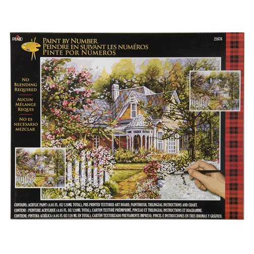 Plaid ® Paint by Number - Victorian Garden