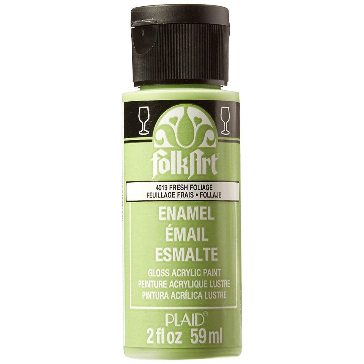 FolkArt ® Enamels™ - Fresh Foliage, 2 oz. - 4019