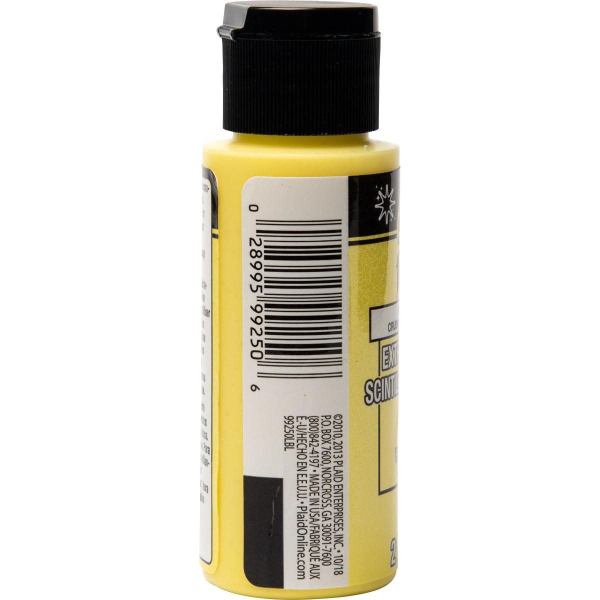 FolkArt ® Extreme Glitter™ - Lemon Crush, 2 oz. - 99250