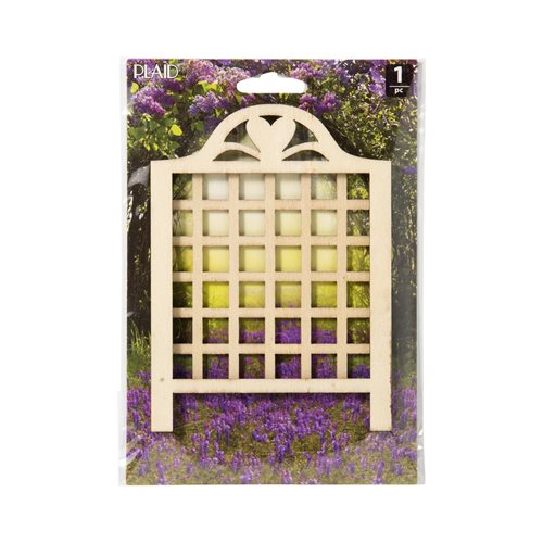 Plaid ® Wood Surfaces - Fairy Garden - Lattice