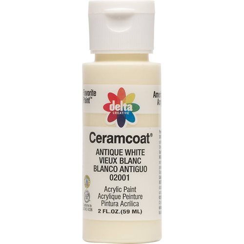 Delta Ceramcoat ® Acrylic Paint - Antique White, 2 oz.