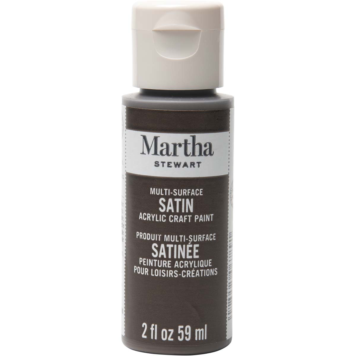 Martha Stewart® 2oz Multi-Surface Satin Acrylic Craft Paint - Vanilla Bean