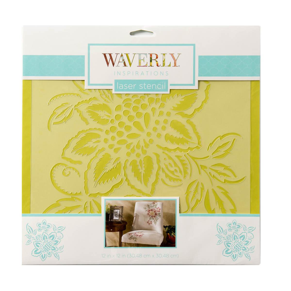 Waverly ® Inspirations Laser Stencils - Décor - Floral, 12