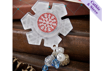 Snowflake Podgeable Pin