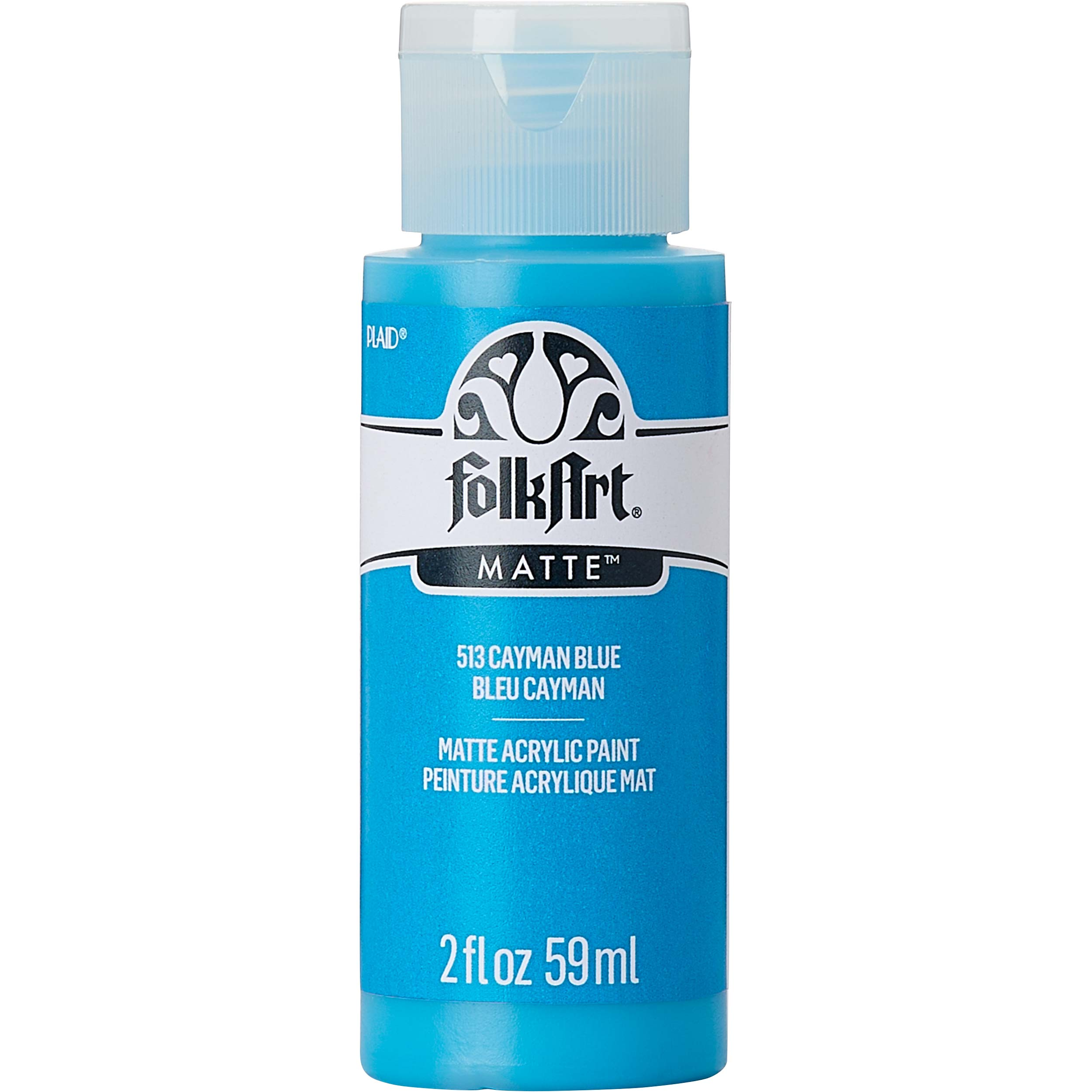 FolkArt ® Acrylic Colors - Cayman Blue, 2 oz. - 513