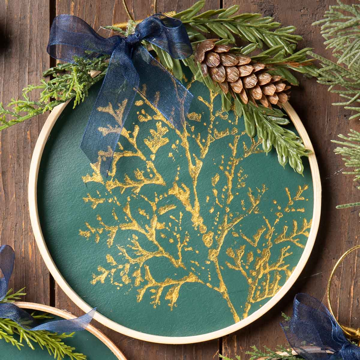 Pressed Branches Ornaments