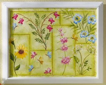 Wildflower Canvas