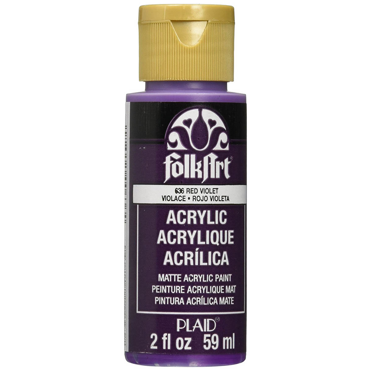 FolkArt ® Acrylic Colors - Red Violet, 2 oz.