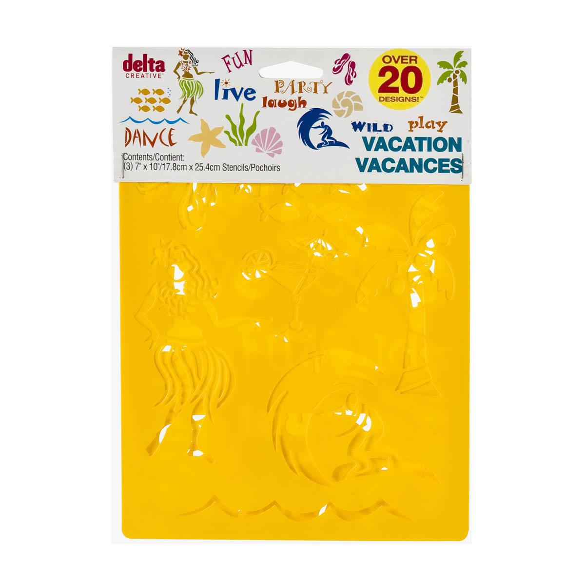 Delta Stencil Mania™ - Vacation 3 Pack - 970990056