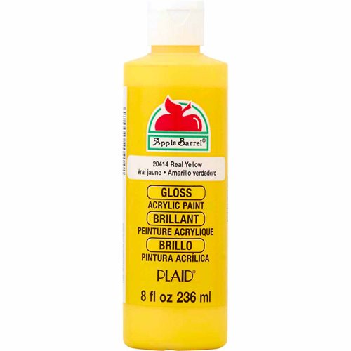 Apple Barrel ® Gloss™ - Real Yellow, 8 oz. - j20414