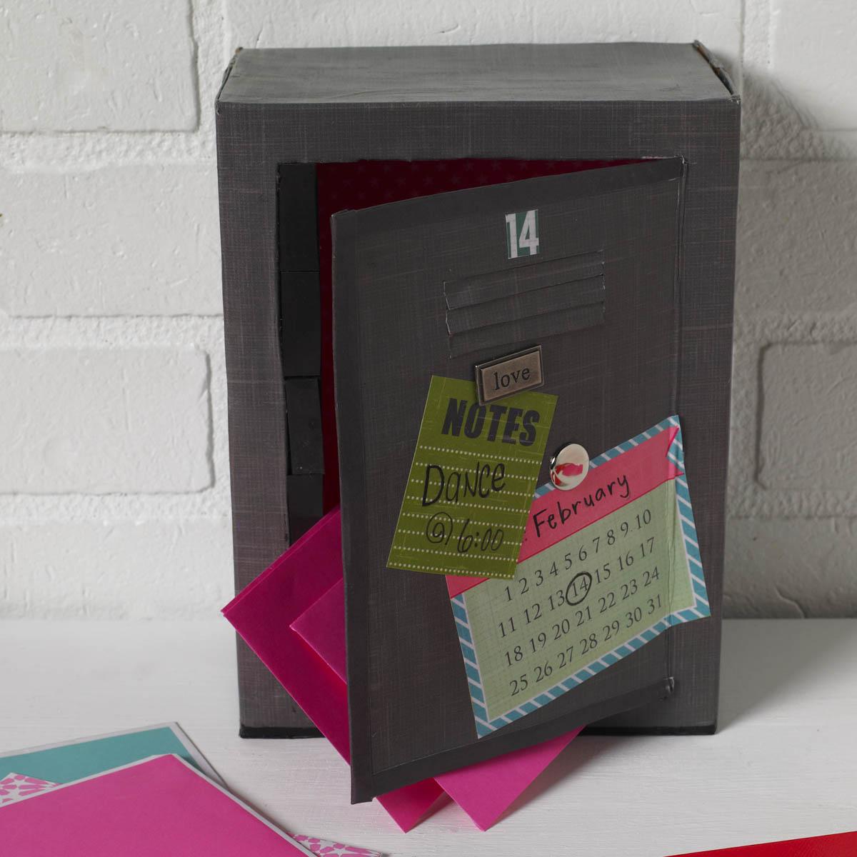 Valentine Box Idea   Locker