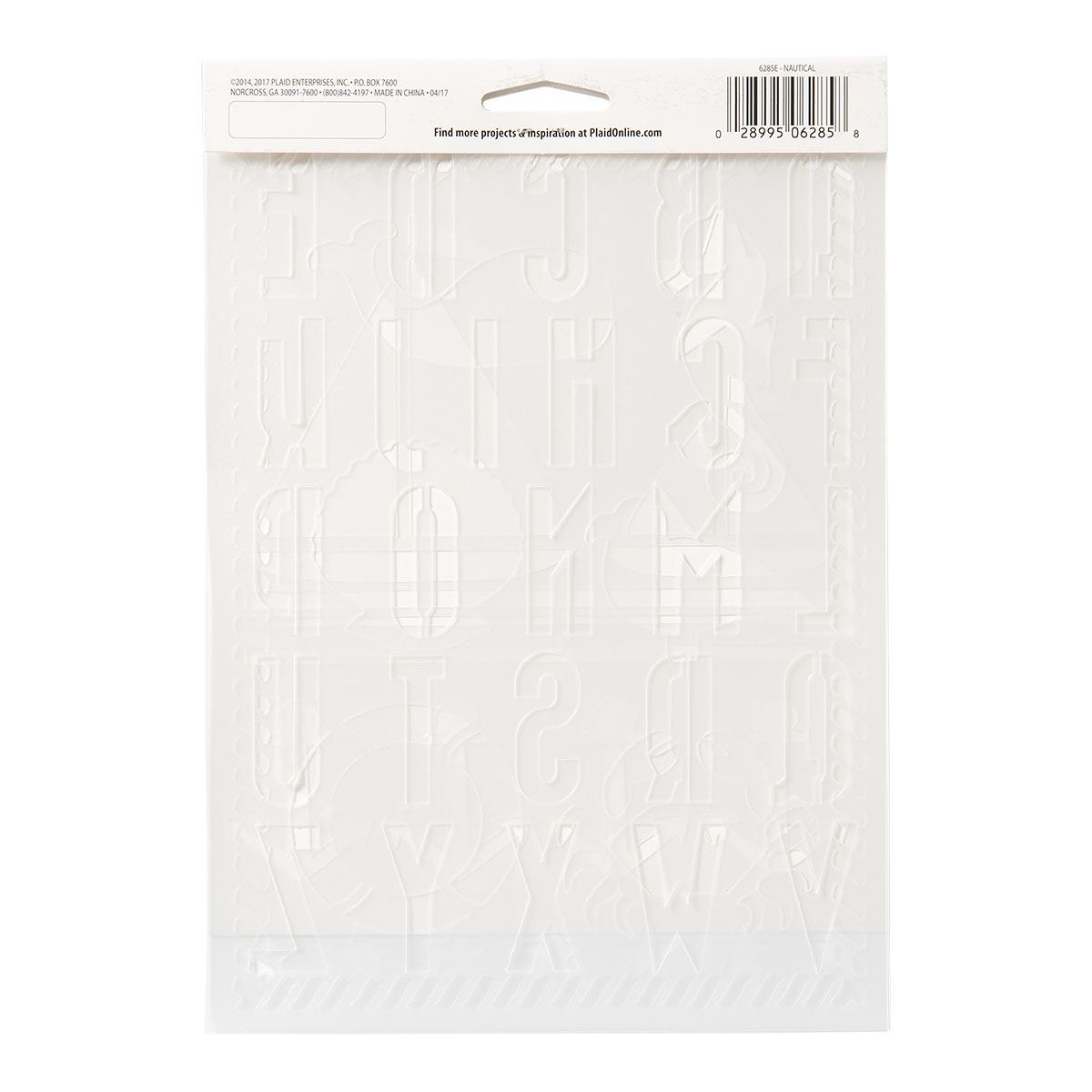 FolkArt ® Stencil Value Packs - Nautical, 7