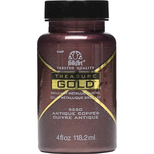 FolkArt ® Treasure Gold™ - Antique Copper, 4 oz. - 5550