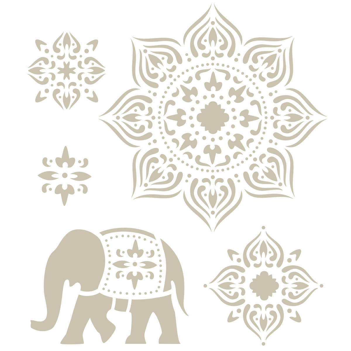 FolkArt ® Handmade Charlotte™ Stencils - Tangier - 30950