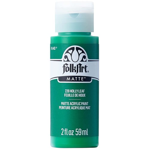 FolkArt ® Acrylic Colors - Holly Leaf, 2 oz.