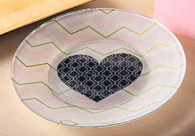 Valentine Dessert Plate