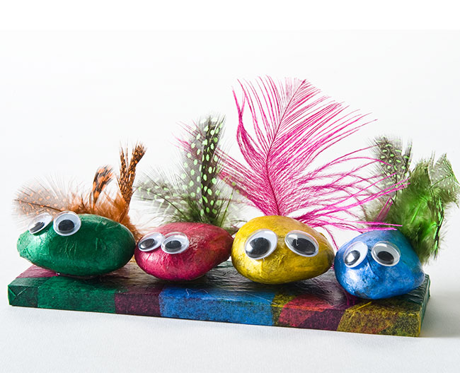 Mod Podge Rock Birds for Earth Day - Project | Plaid Online