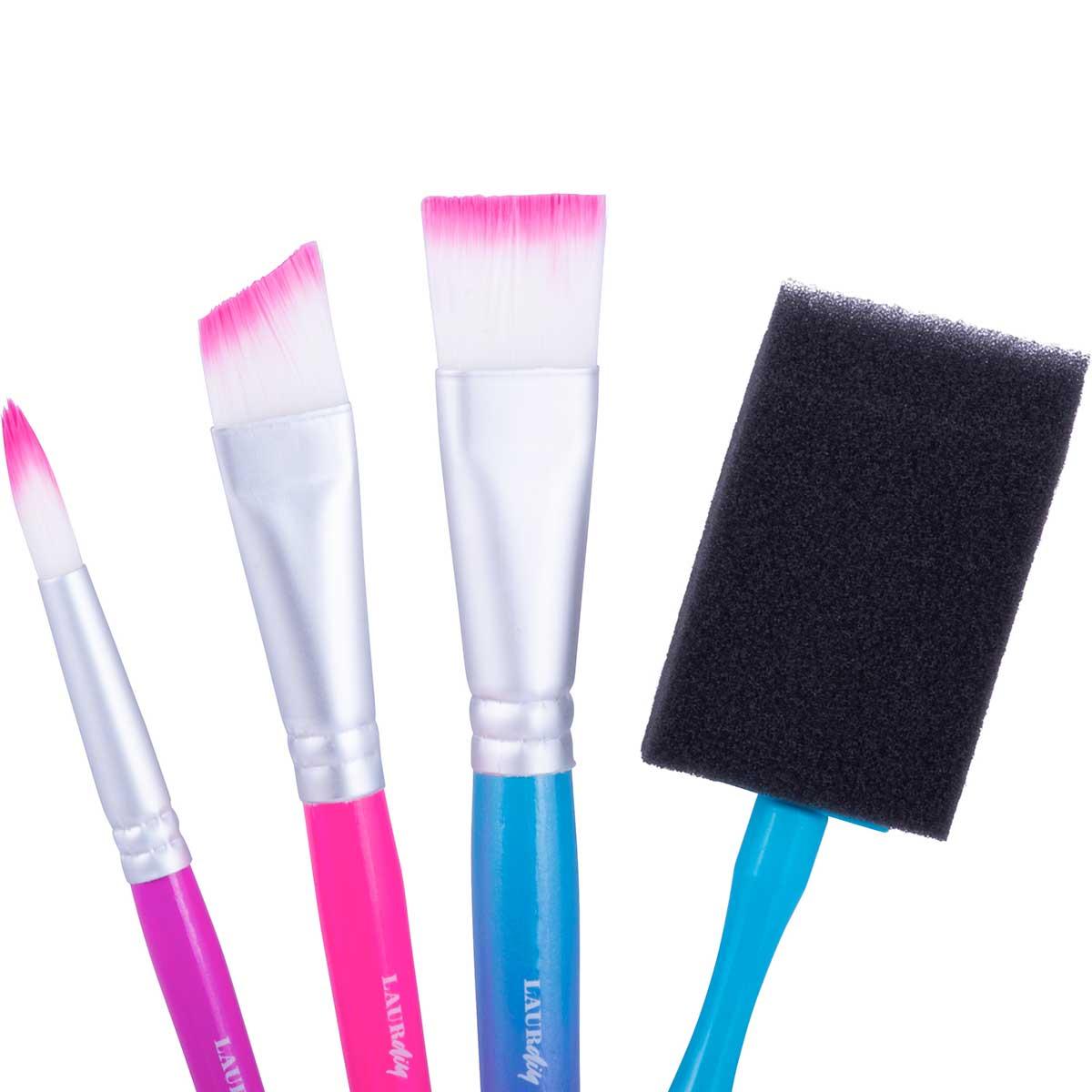 LaurDIY ® Brush Set - Large, 4 pc.