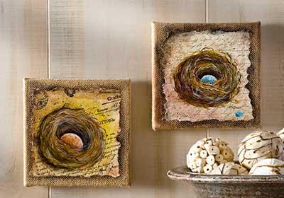 A Painted Bird's Nest