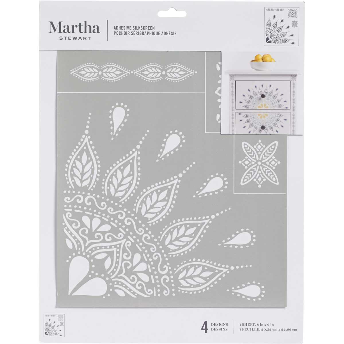 Martha Stewart® Silkscreen - Mandala