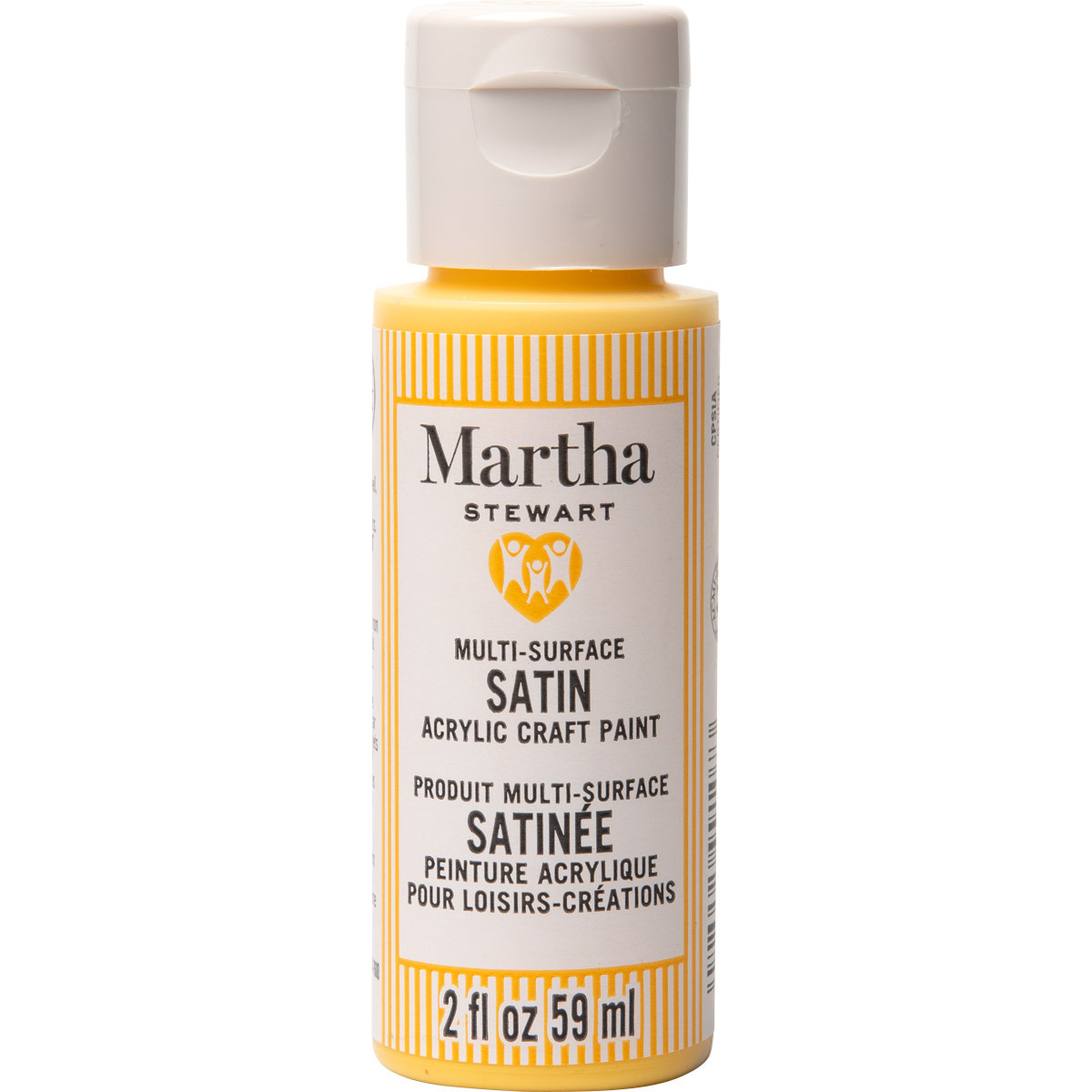 Martha Stewart ® Multi-Surface Satin Acrylic Craft Paint CPSIA - Marigold, 2 oz. - 99107