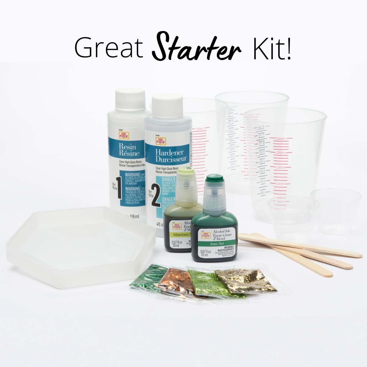 Mod Podge ® Do-It-Yourself Resin Kit - Tropical Leaf - 25298E