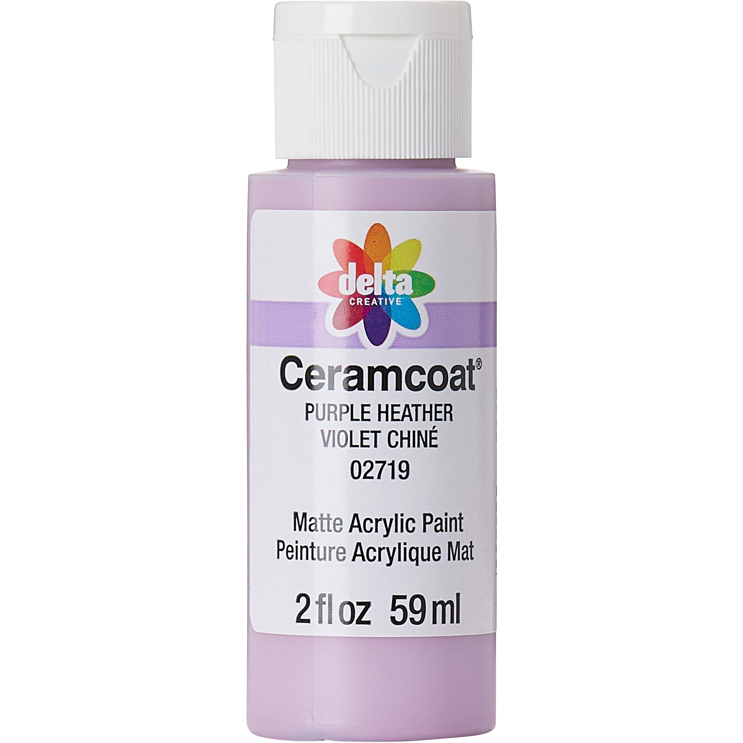 Delta Ceramcoat ® Acrylic Paint - Purple Heather, 2 oz. - 02719