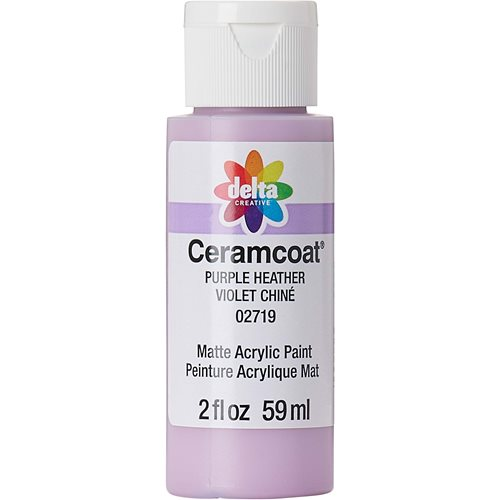 Delta Ceramcoat ® Acrylic Paint - Purple Heather, 2 oz.