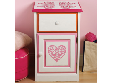 Heart Sidetable