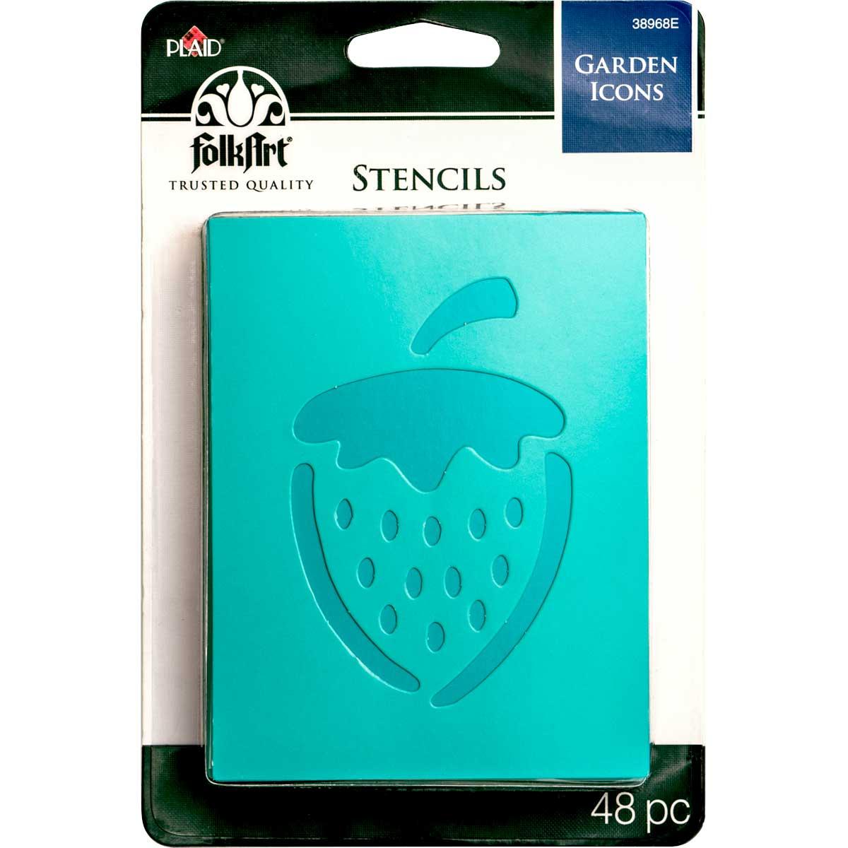 FolkArt ® Stencil Value Packs - Garden Icons