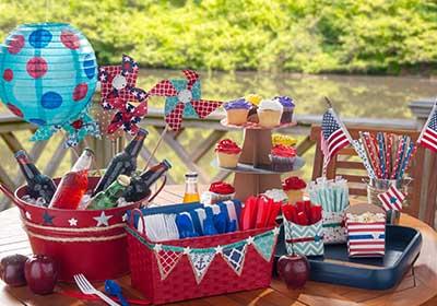 Nautical Party Tray