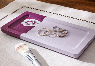 DIY Small Jewelry Tray
