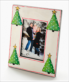 Holiday Trees Photo Frame