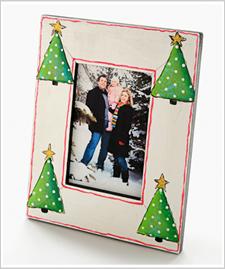 Holiday Trees Photo Frame
