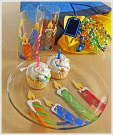 Happy Birthday Party Glassware