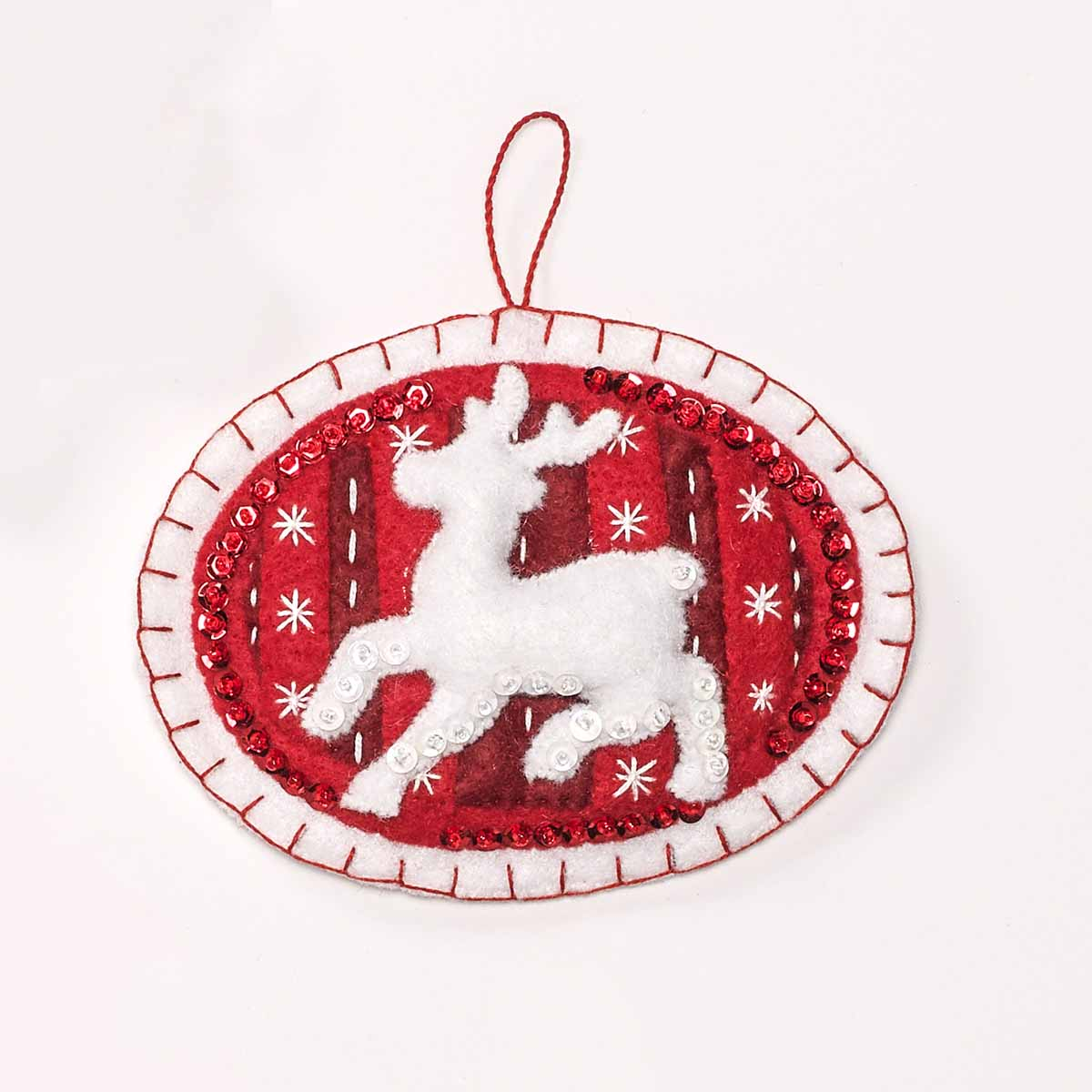 Shop Plaid Bucilla ® Seasonal - Felt - Ornament Kits ...