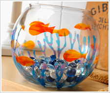 Gallery Glass Fishey-fish Bowl