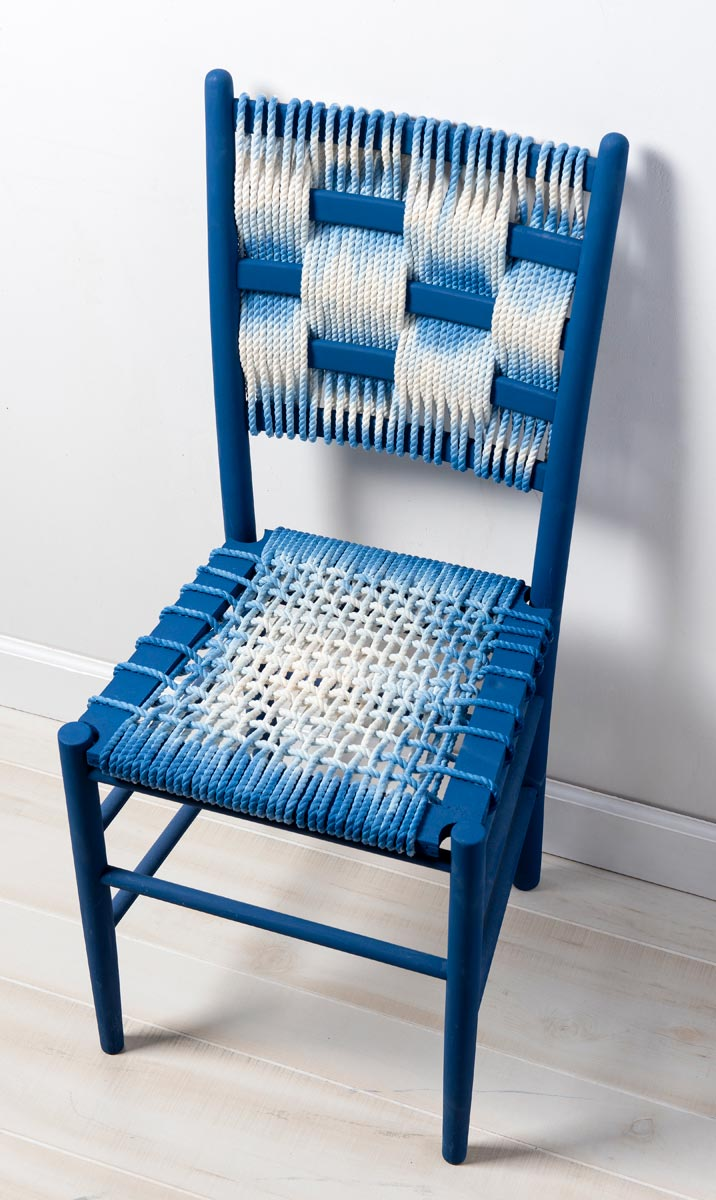 Shibori-Style Chair